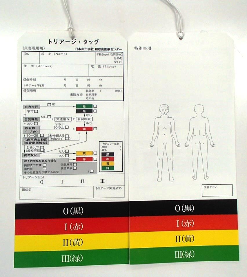 トリアージ(START方式)のご紹介 日赤和歌山情報局 Hot(ほっと ...